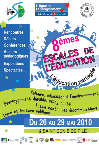 Escales de l'éducation  - design : Mareva Verpillat