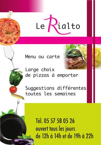 Carte De Visite Le Rialto