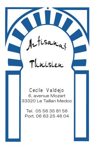 Carte De Visite Ccile Valdejo