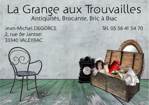 Carte De Visite La Grange Aux Trouvailles